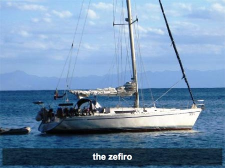 Zefiro la barca di Peppe e Tiziana